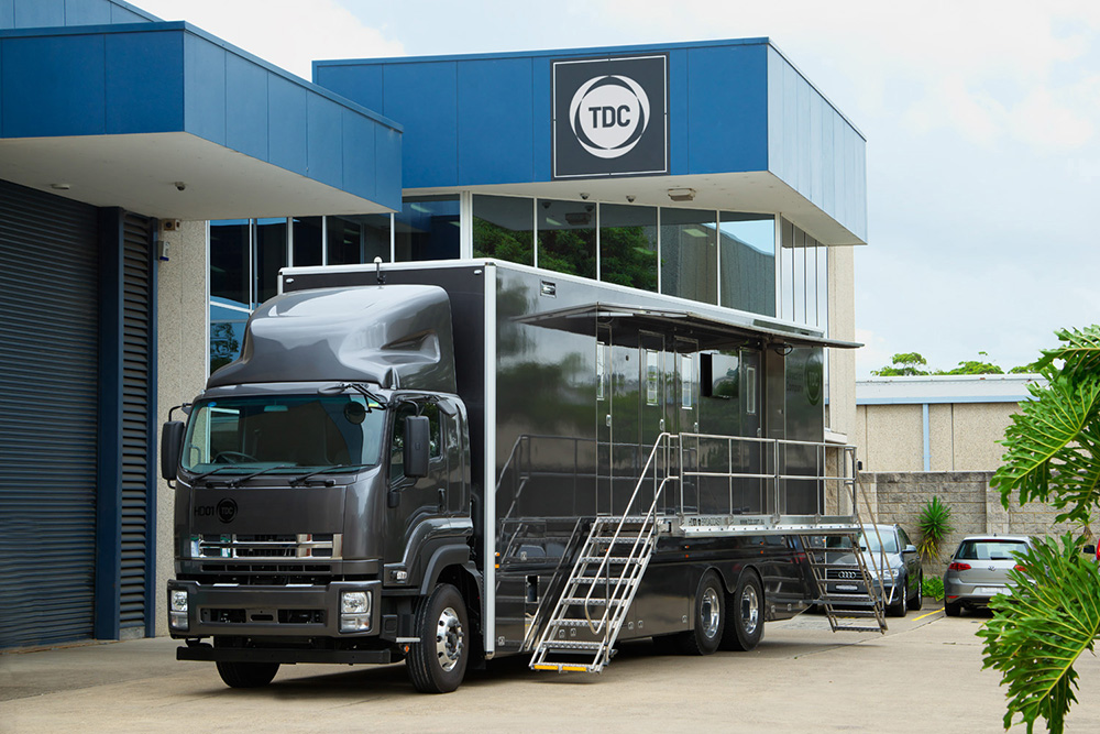 HD01 Broadcast Truck